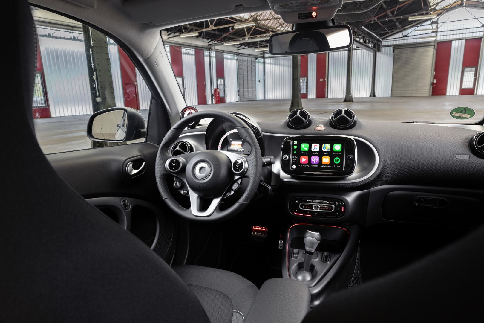 Smart Forfour facelift interieur