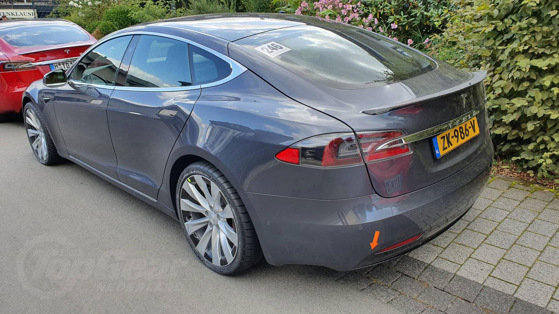 Tesla Model S nurburgring