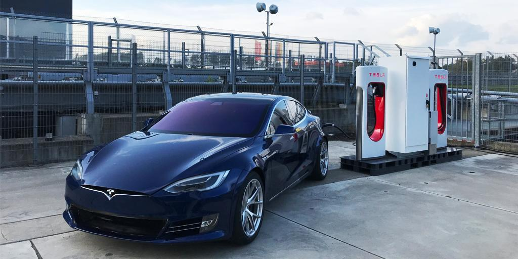 Tesla Supercharger Nurburgring