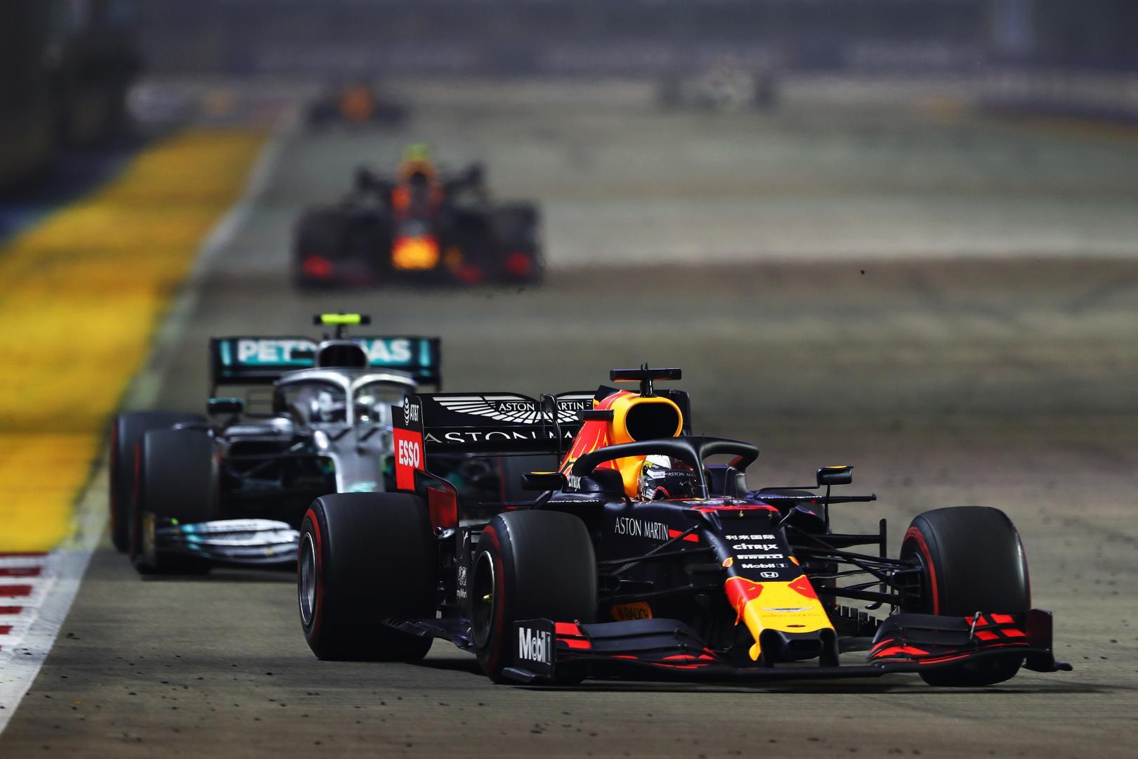 Uitslag van de GP van Singapore 2019