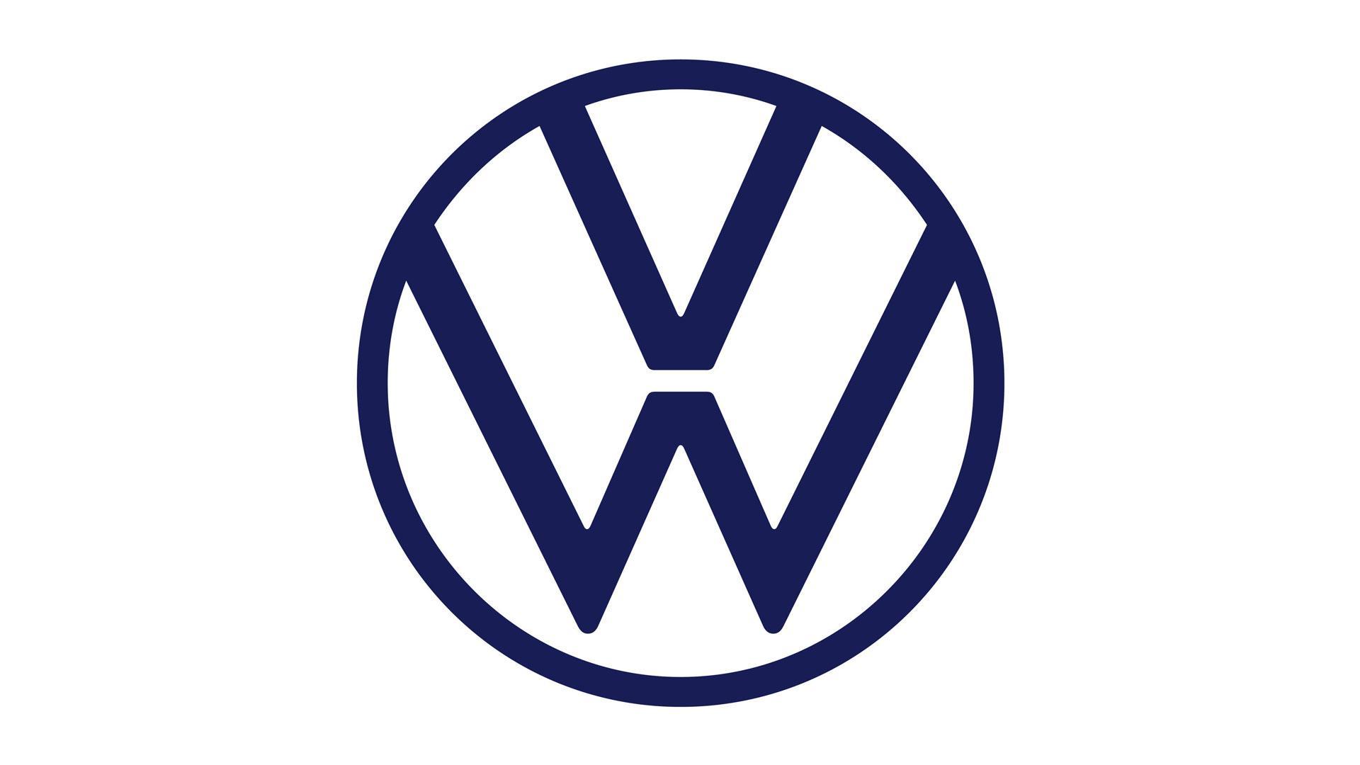 nieuw volkswagen-logo blauw wit 2019