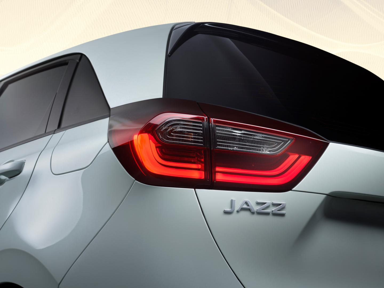 Honda Jazz achter detail naamplaat