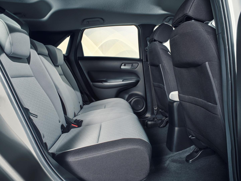 Honda Jazz stoelen achter