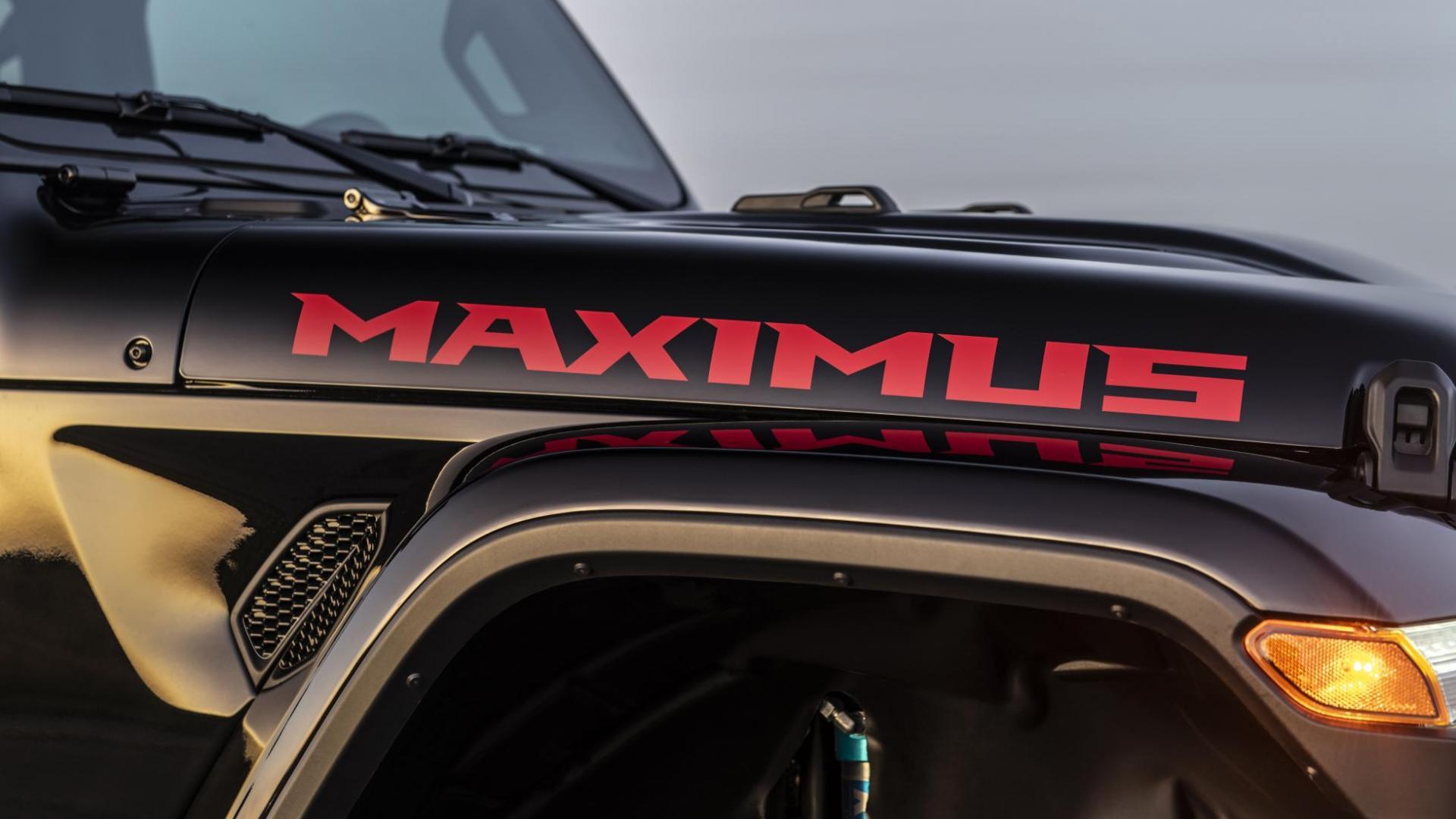 Hennessey Jeep Gladiator Maximus detail rechtsvoor