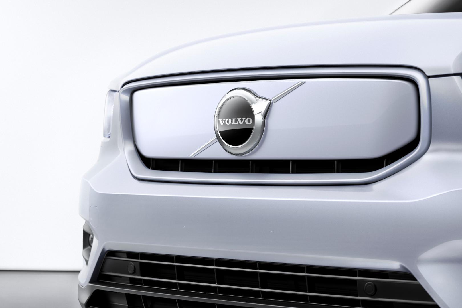 Elektrische Volvo XC40 Recharge grille