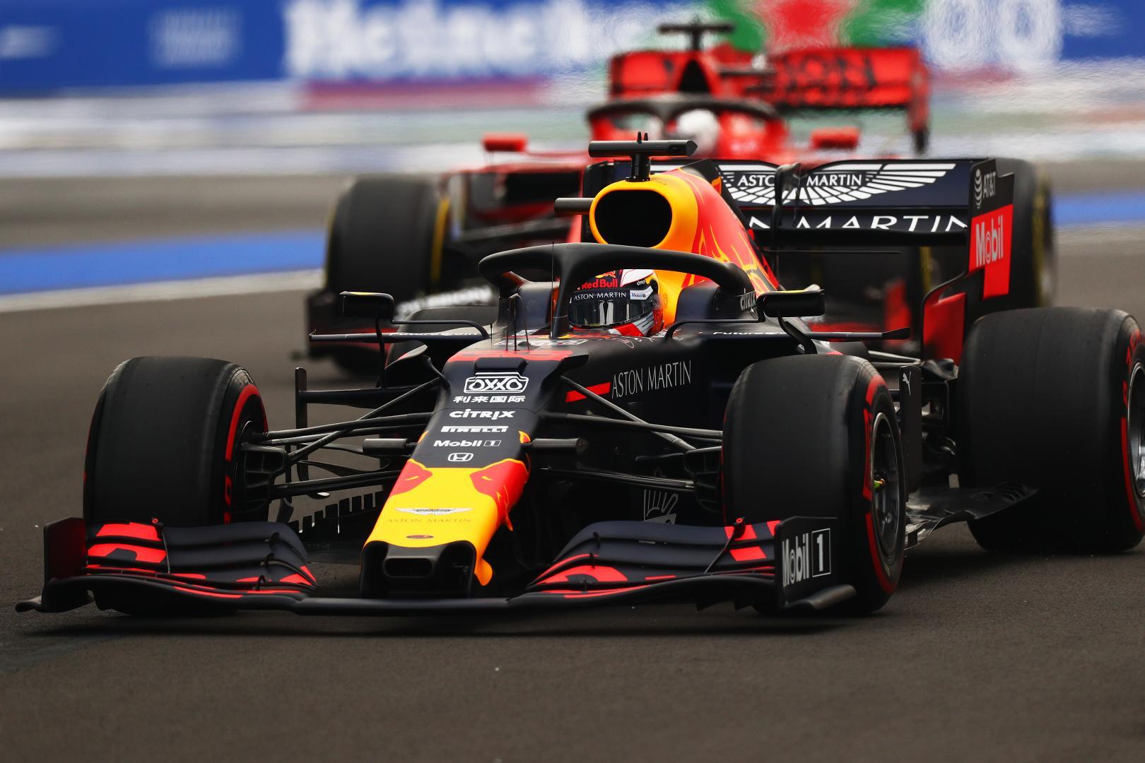2e vrije training van de GP van Mexico 2019