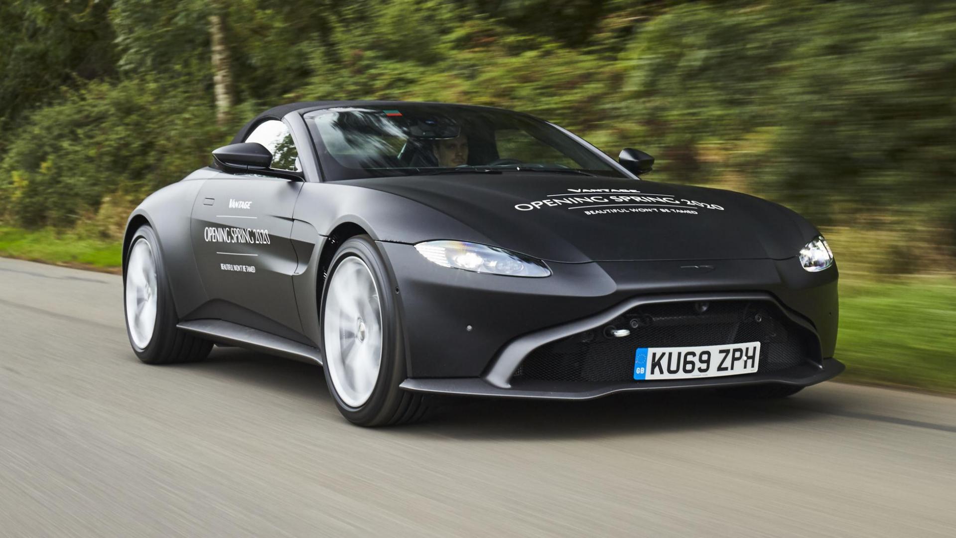 Aston Martin Vantage Roadster V8 2020 rechtsvoor