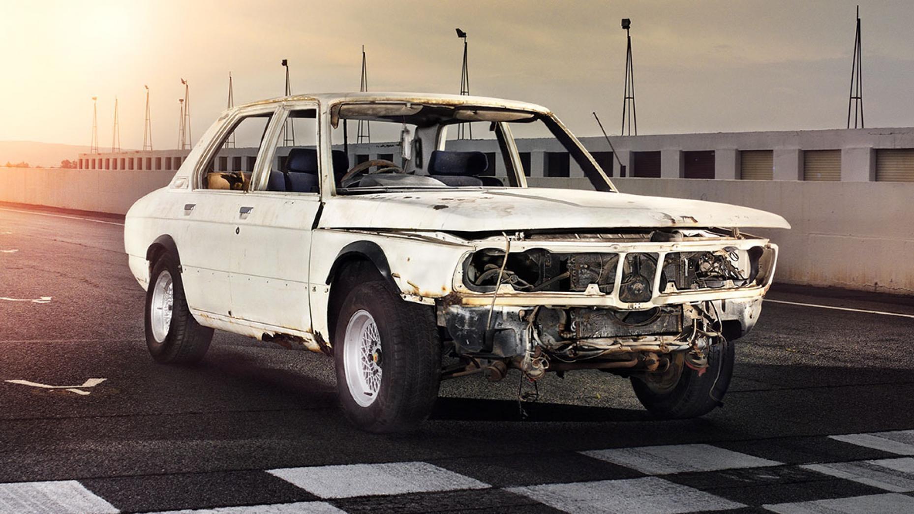 BMW 530 MLE voor restauratie