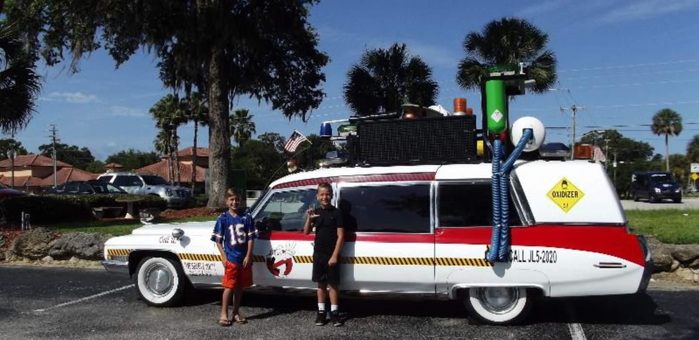 Ecto-1 lijkwagen Ghostbusters