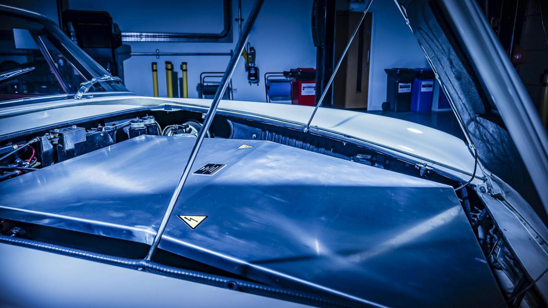 Elektrische klassieke auto's