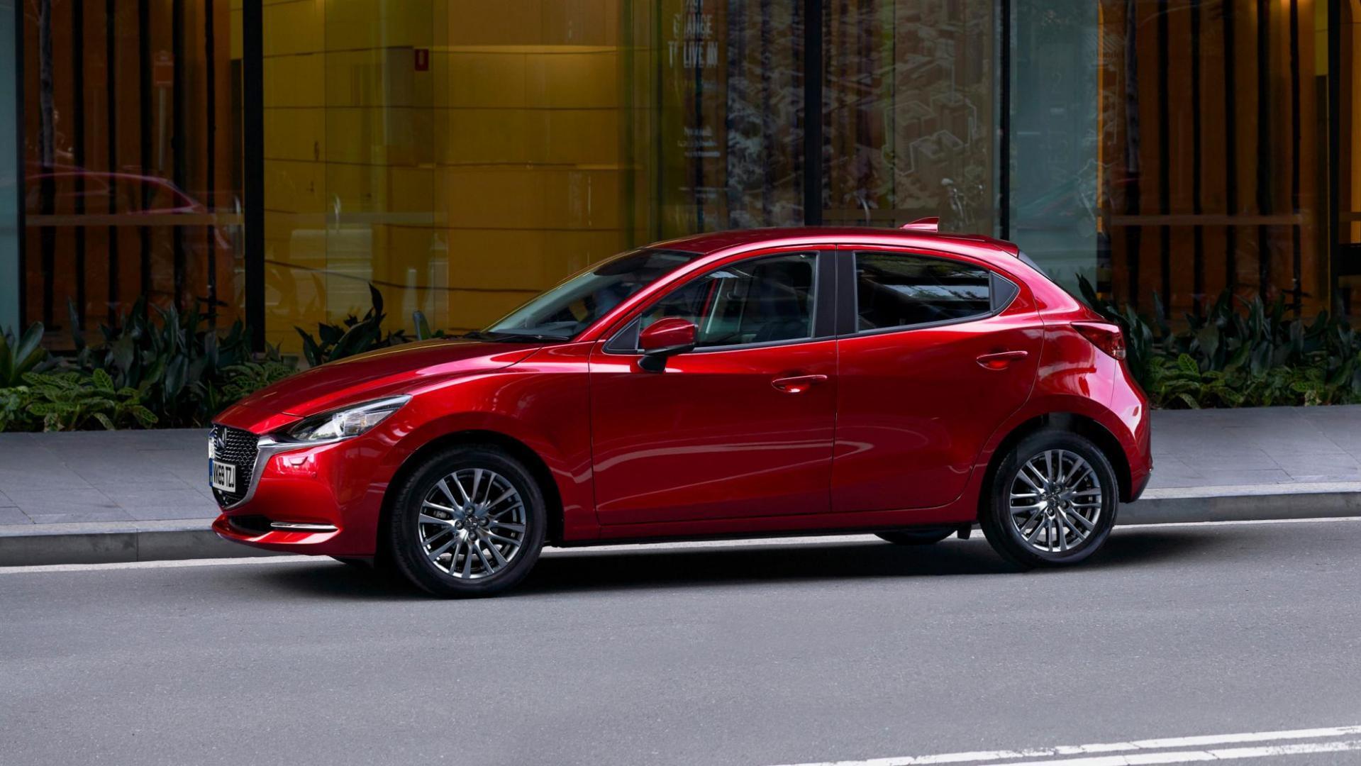 Facelift van de Mazda 2
