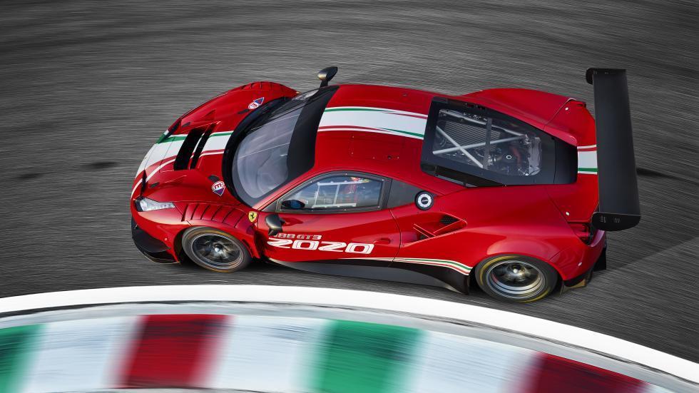 Ferrari 488 EVO boven