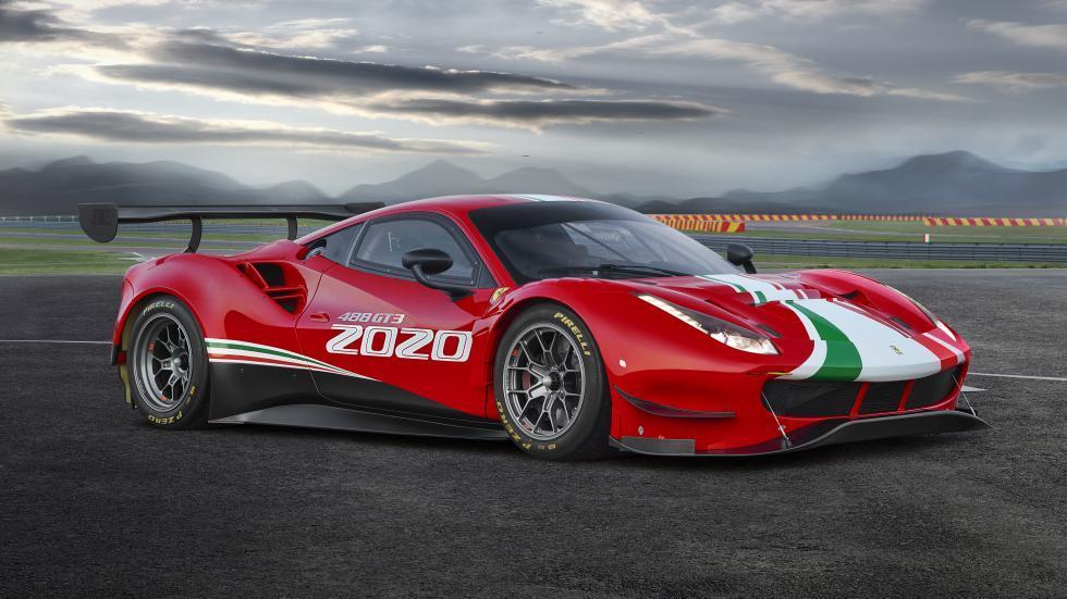 Ferrari 488 EVO rechtsvoor
