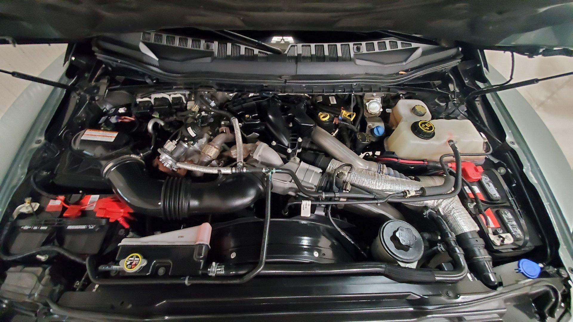Ford F-550 Super Duty Indomitus 6x6 onder de motorkap