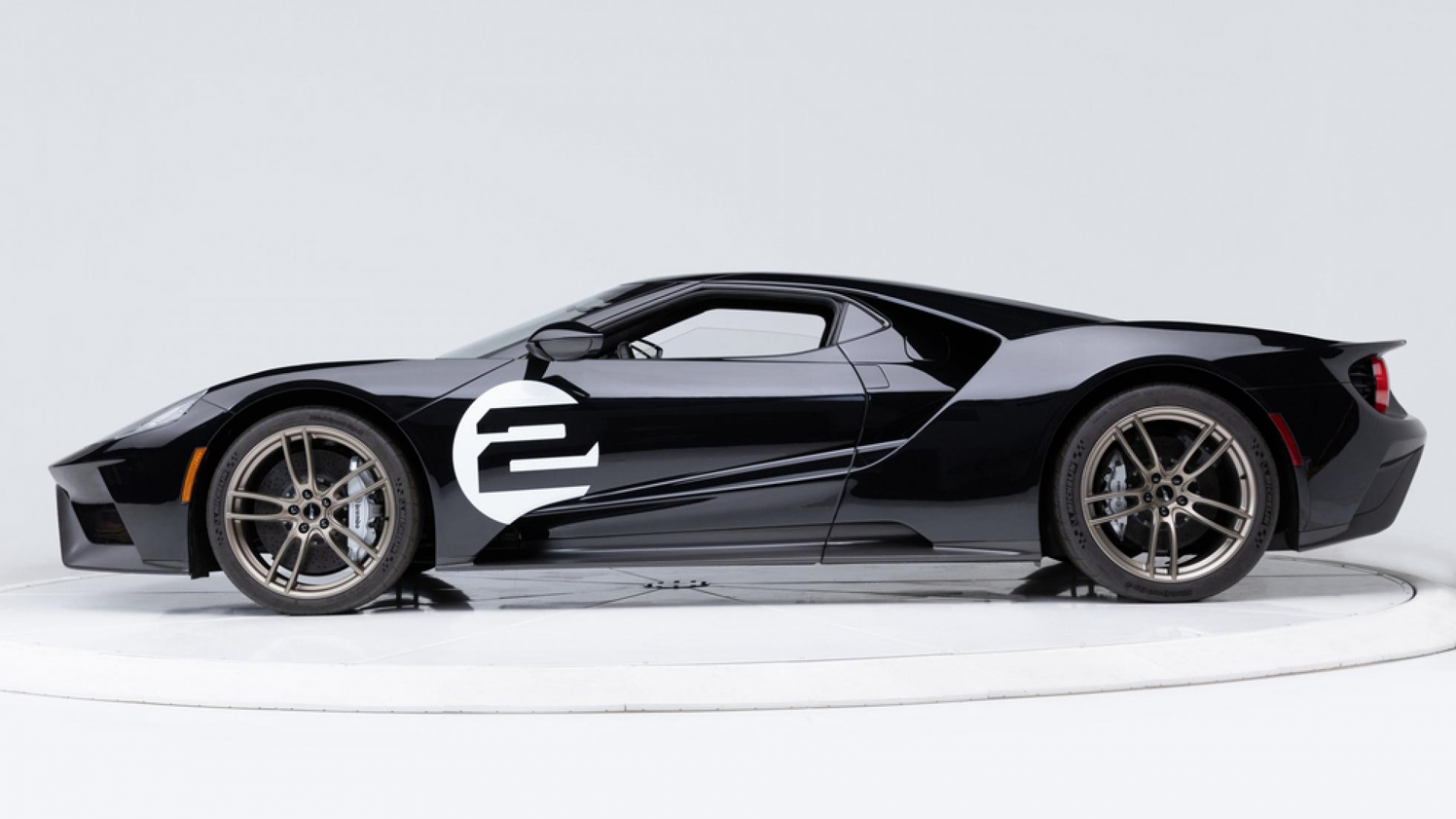 Ford GT 66 heritage edition links zijkant