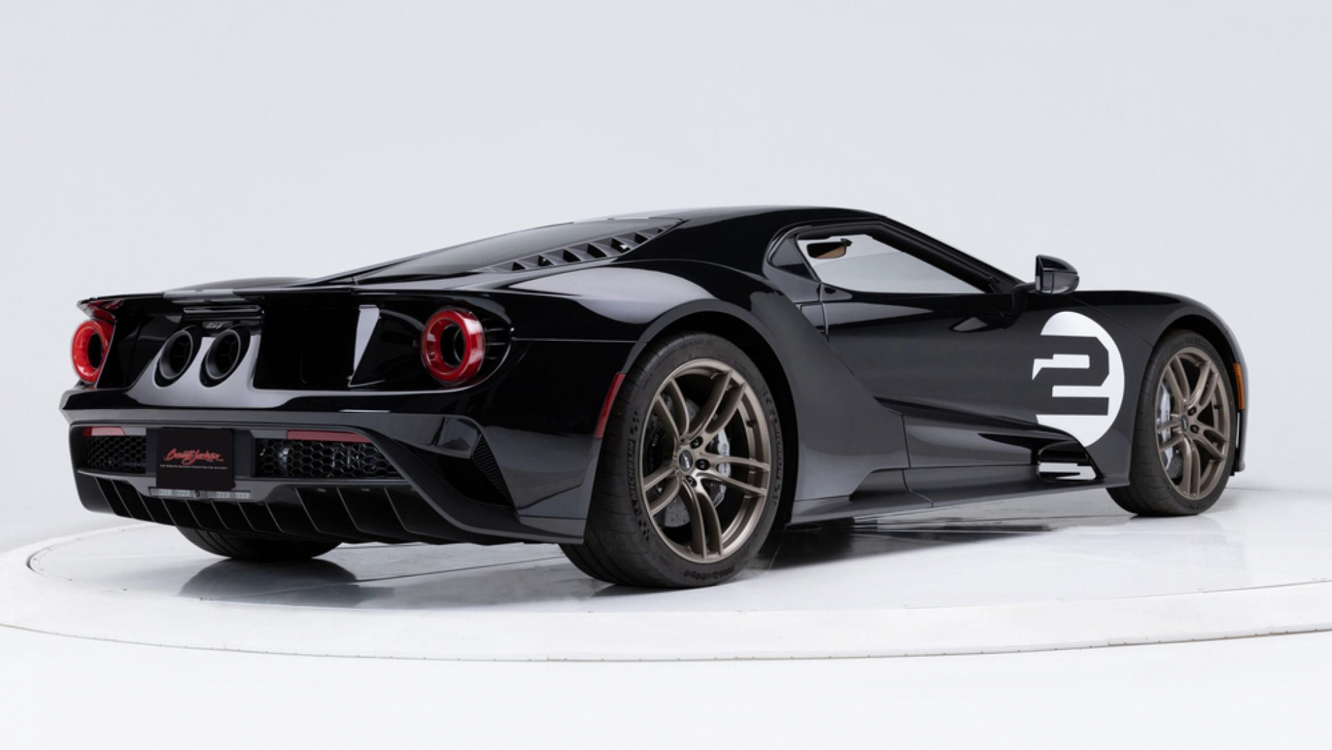 Ford GT 66 heritage edition rechtsachter
