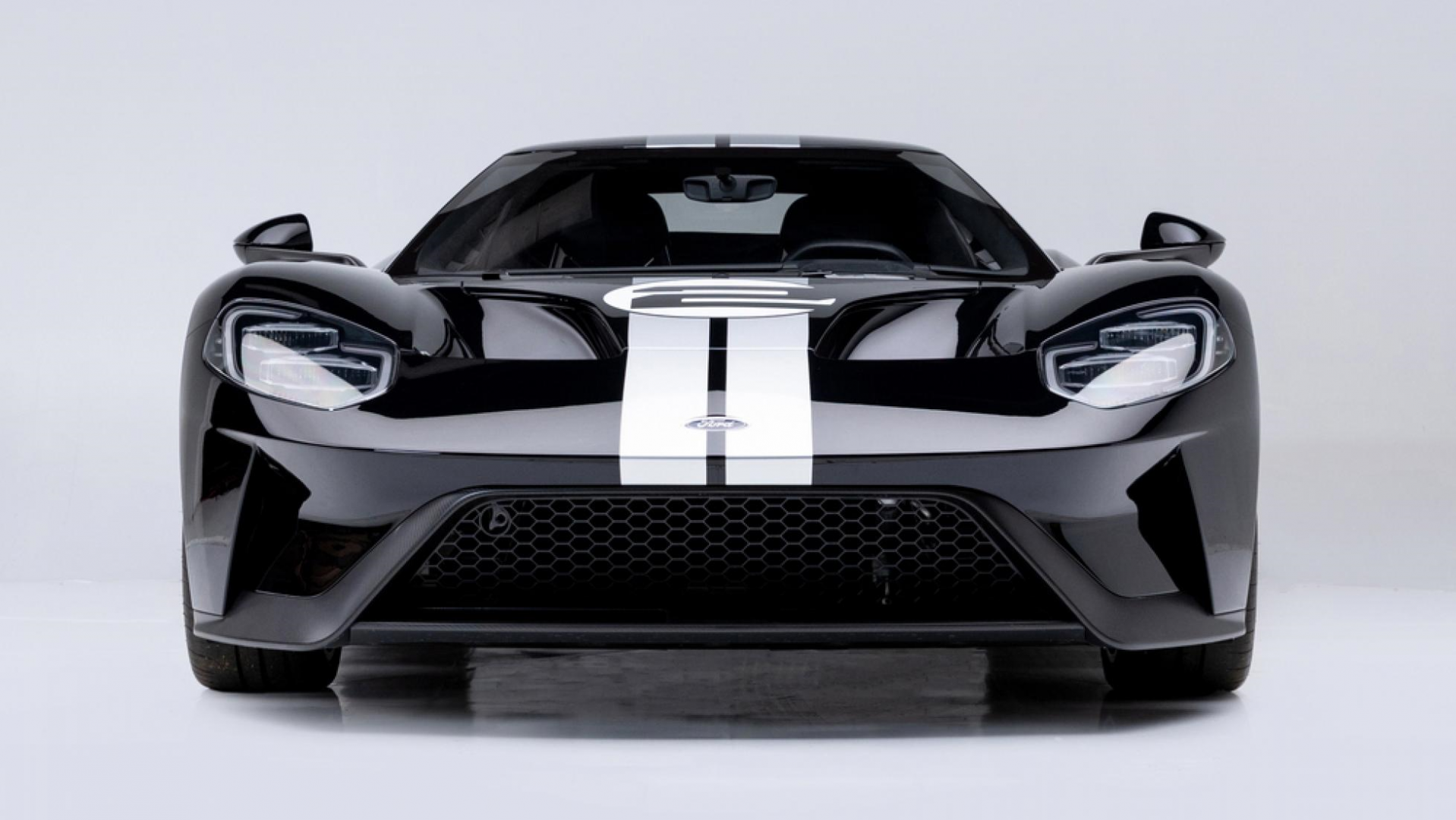 Ford GT 66 heritage edition voor