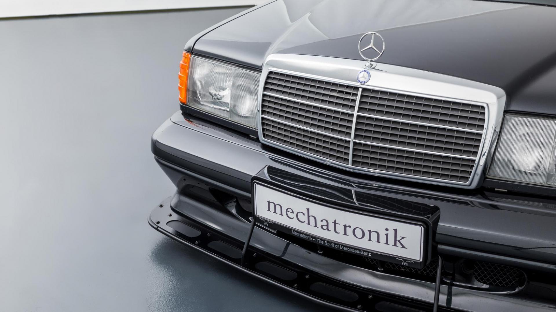 Mercedes 190 E EVO 2 voorbumper met grille en koplampen