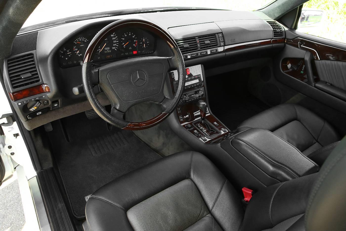 Mercedes S 600 Coupe interieur