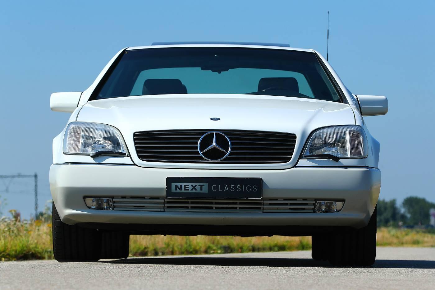 Mercedes S 600 Coupe recht voor
