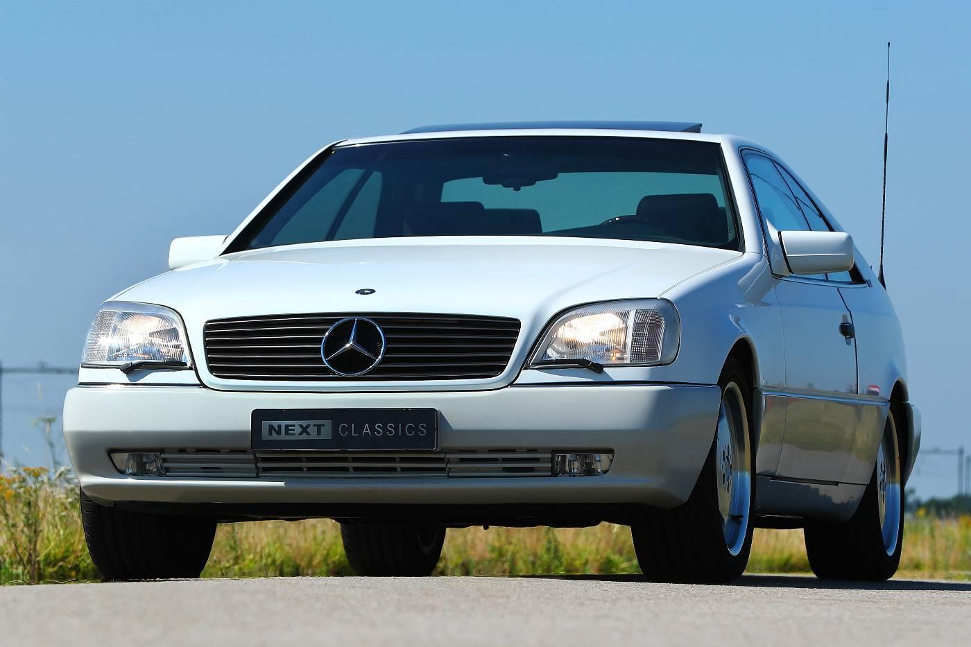 Mercedes S 600 Coupe rechtsvoor