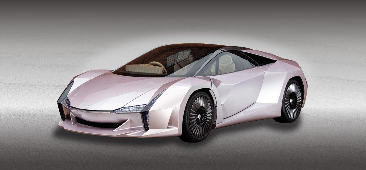 Nano Cellulose Vehicle Concept