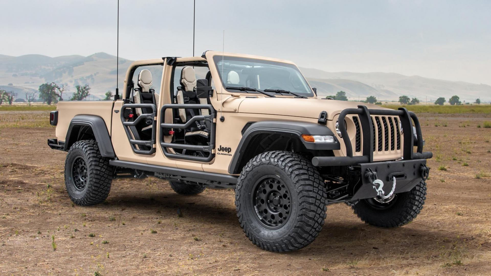 Nieuwe Jeep Gladiator XMT