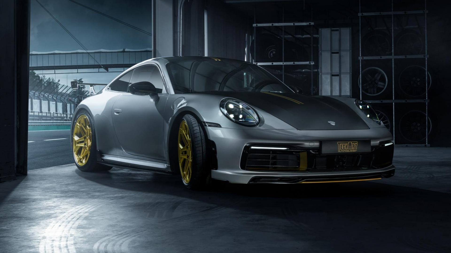 Nieuwe Porsche 911