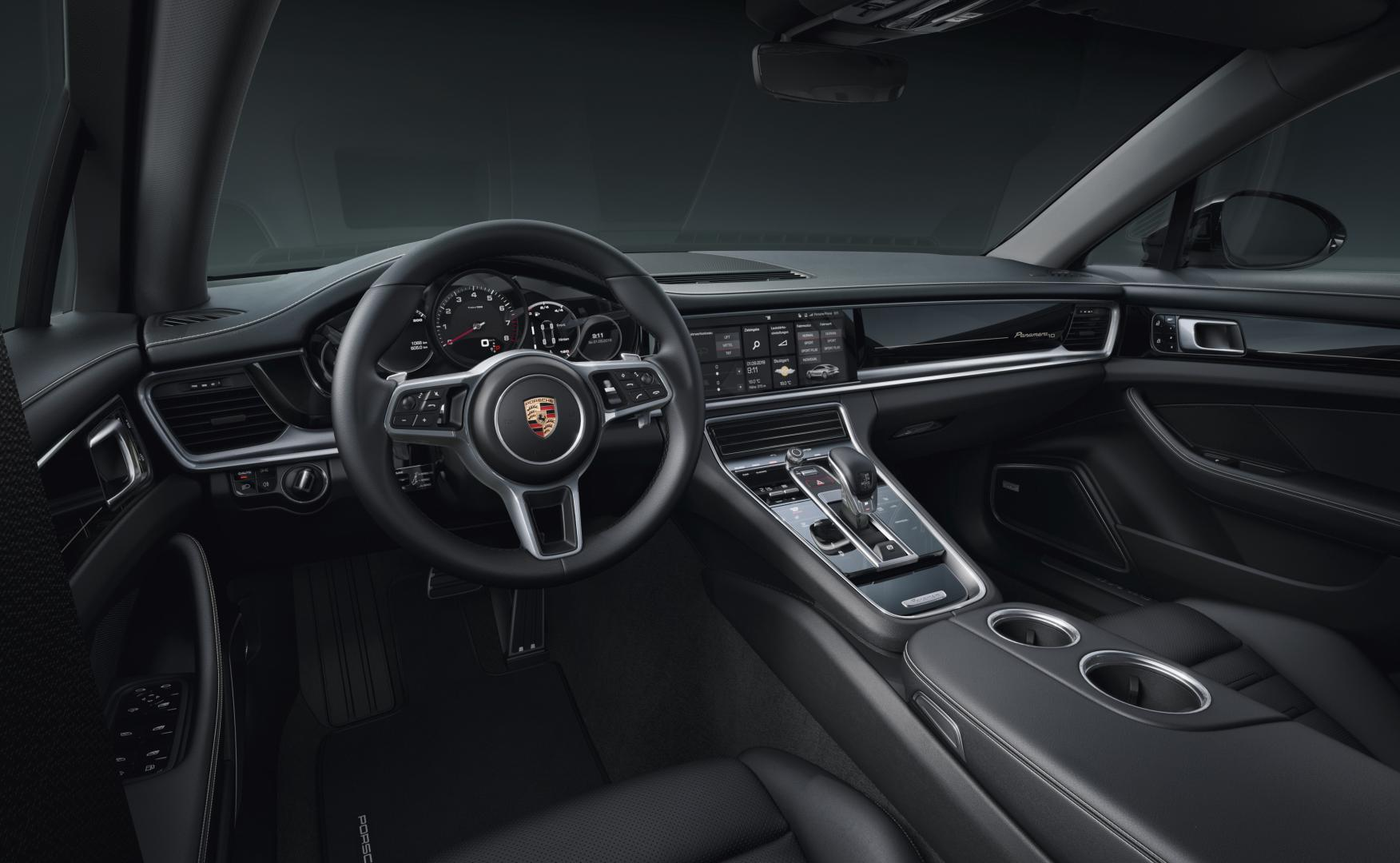 Porsche Panamera 10 Years Edition dashboard