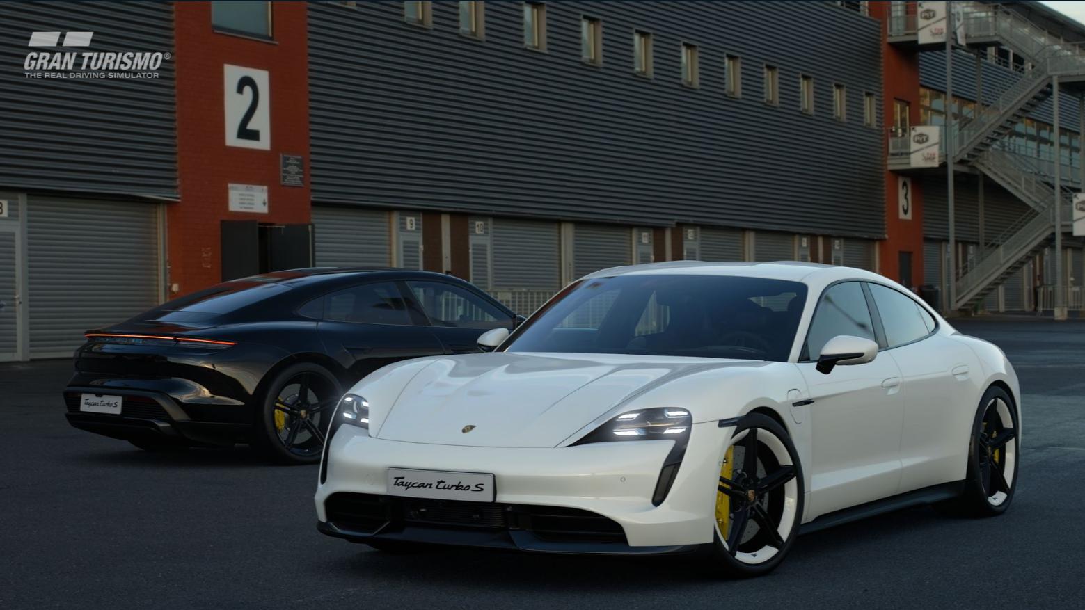 Gran Turismo Sport Porsche Taycan Turbo S