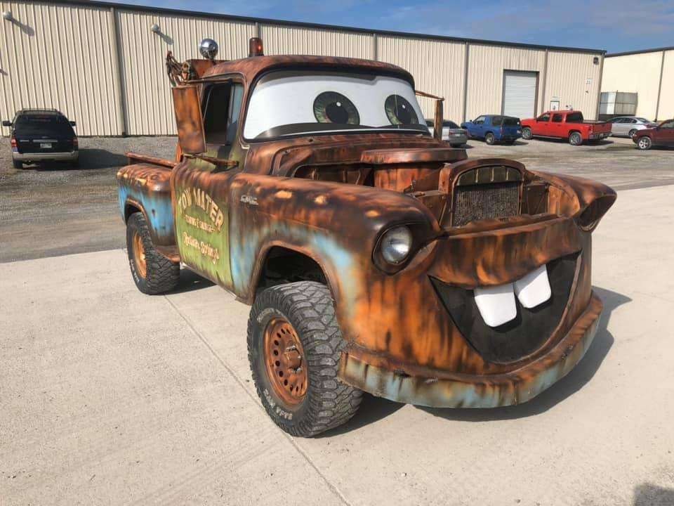 Disney film Cars Tow Mater
