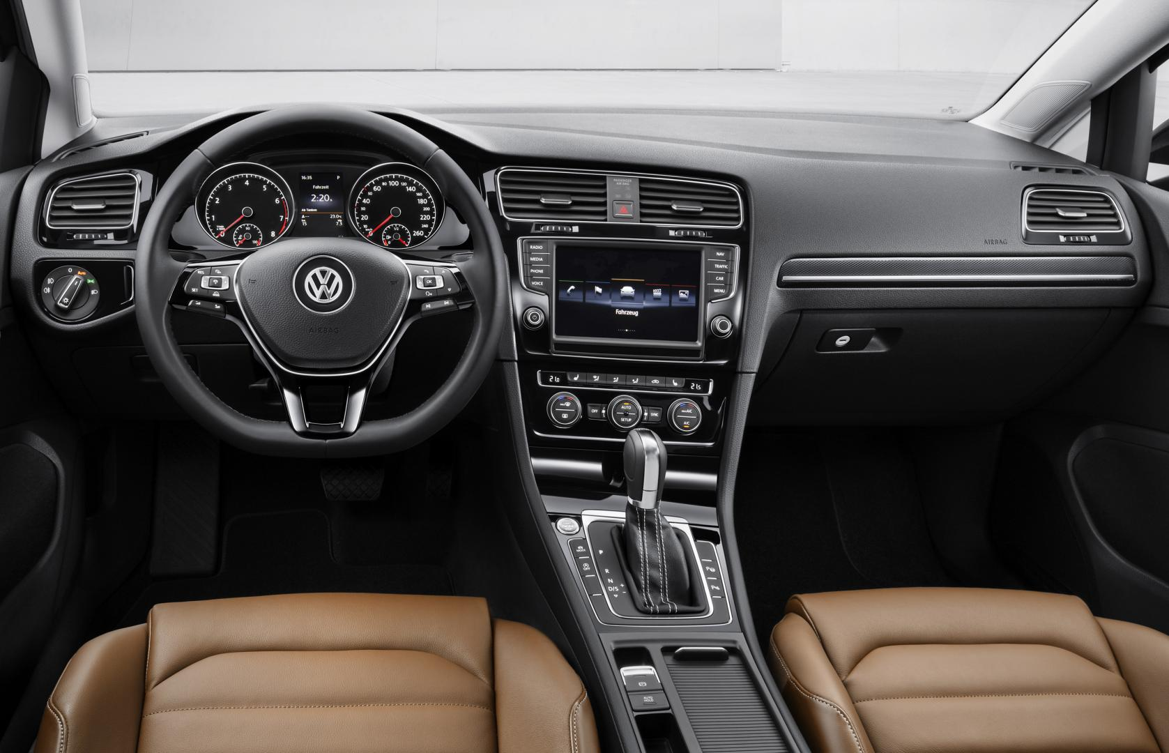 Volkswagen Golf 7 interieur