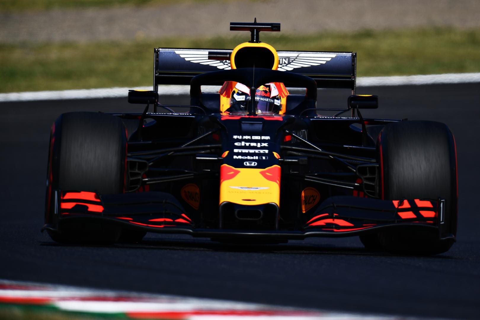 Verstappen GP van Japan 2019 uitval