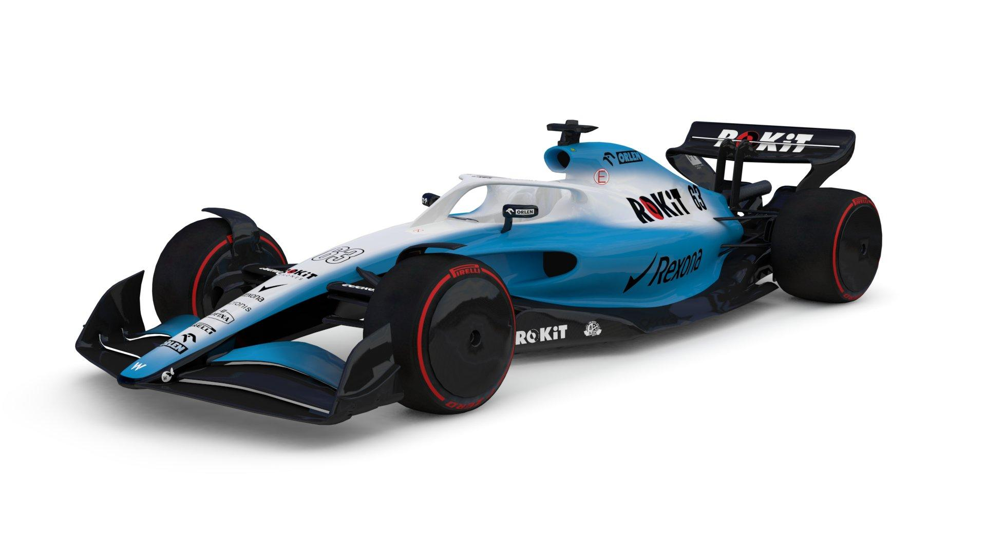 Williams F1 2021 auto