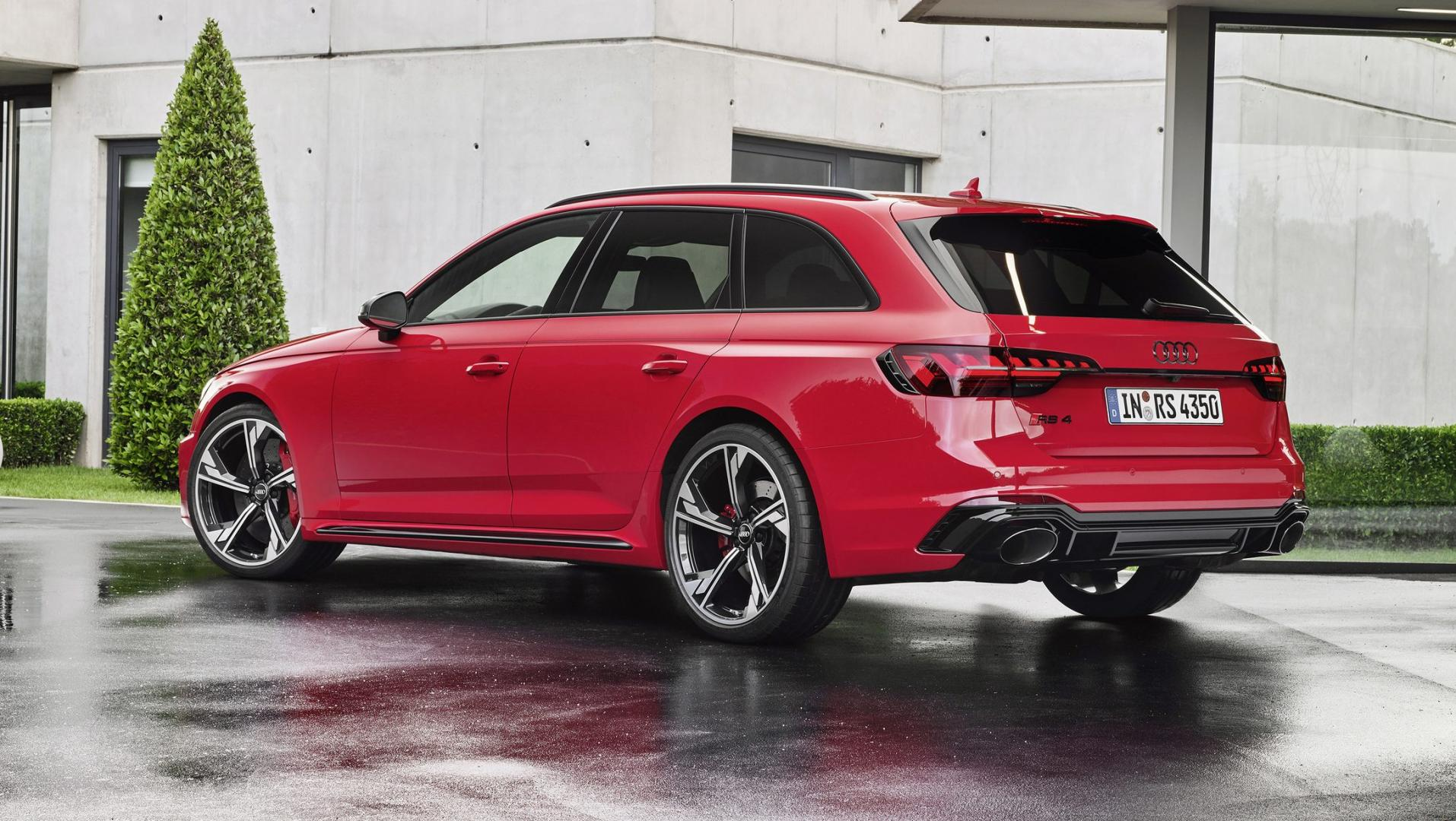 Audi RS 4-facelift 2019