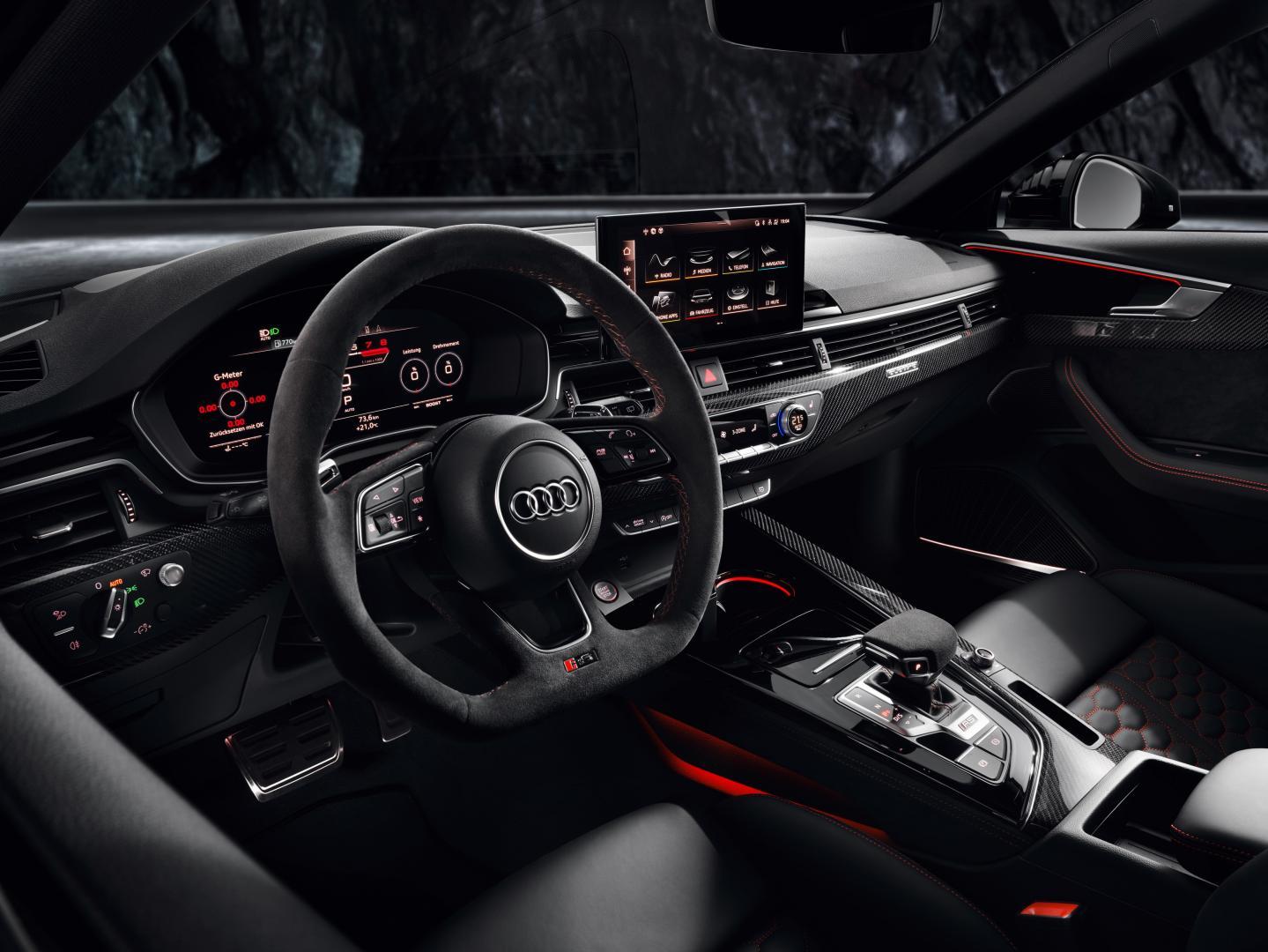 Audi RS 4-facelift 2019 interieur