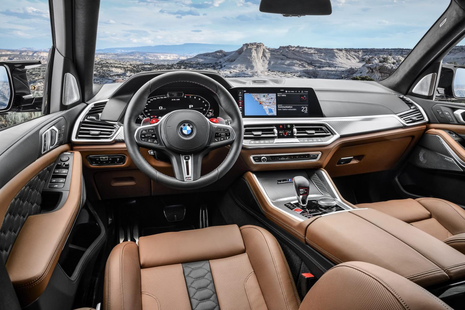 BMW X5 M Competition Interieur