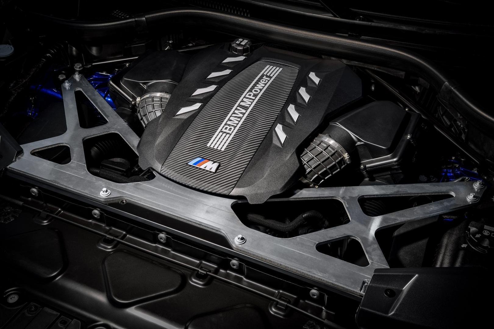 BMW M 4,4-liter V8-motor BMW X5 M X6 M