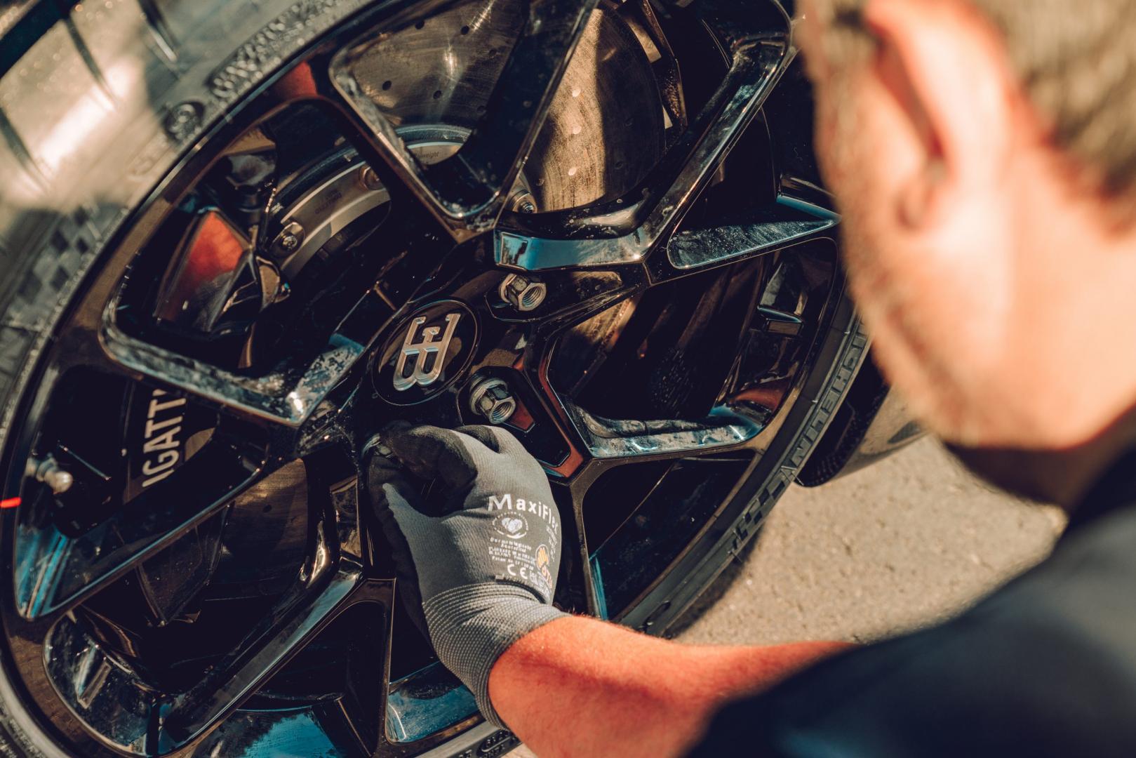 Bugatti Chiron Super Sport detail wiel