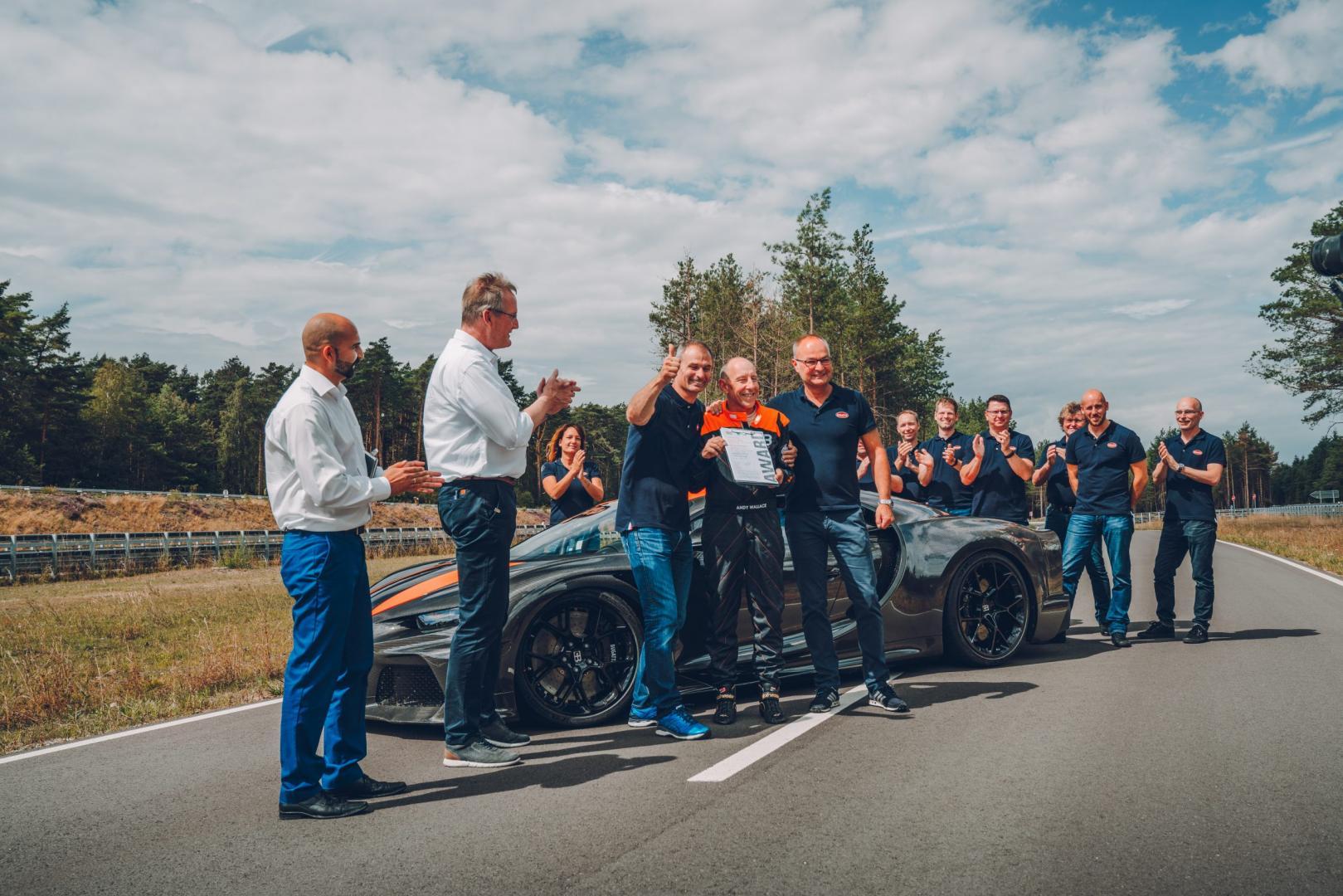Bugatti Chiron Super Sport groep