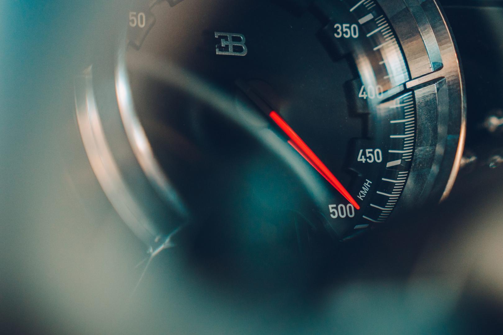 Bugatti Chiron Super Sport interieur meter