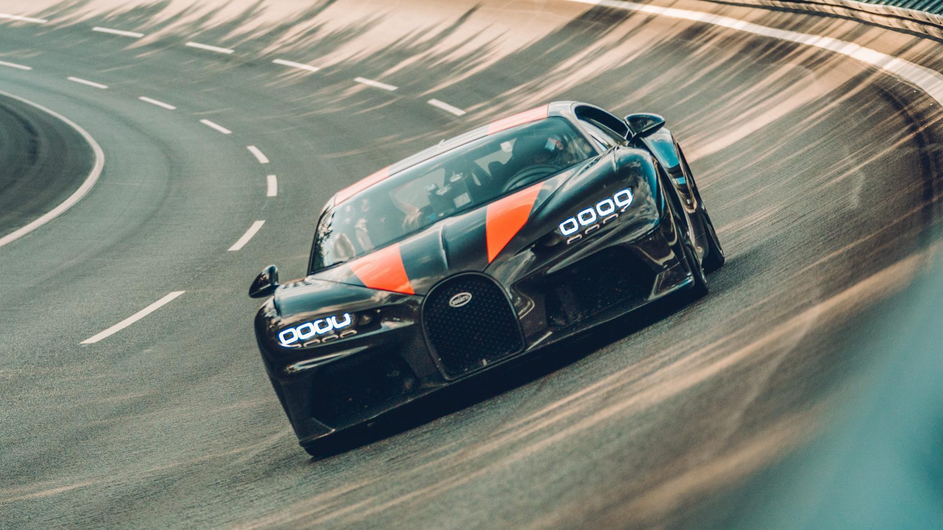 Bugatti Chiron Super Sport rijder 3 4 voor