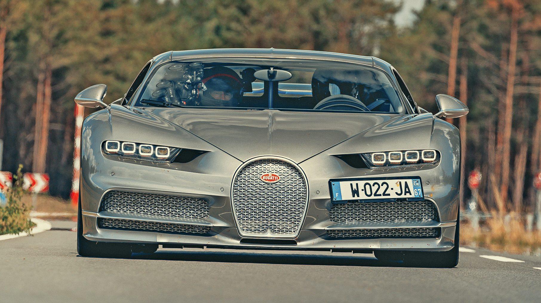 Bugatti Chiron Sport voor