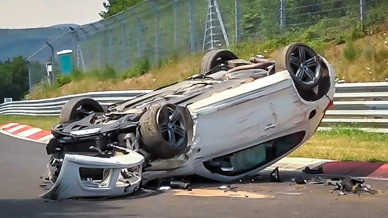 crash op nurburgring Seat Leon