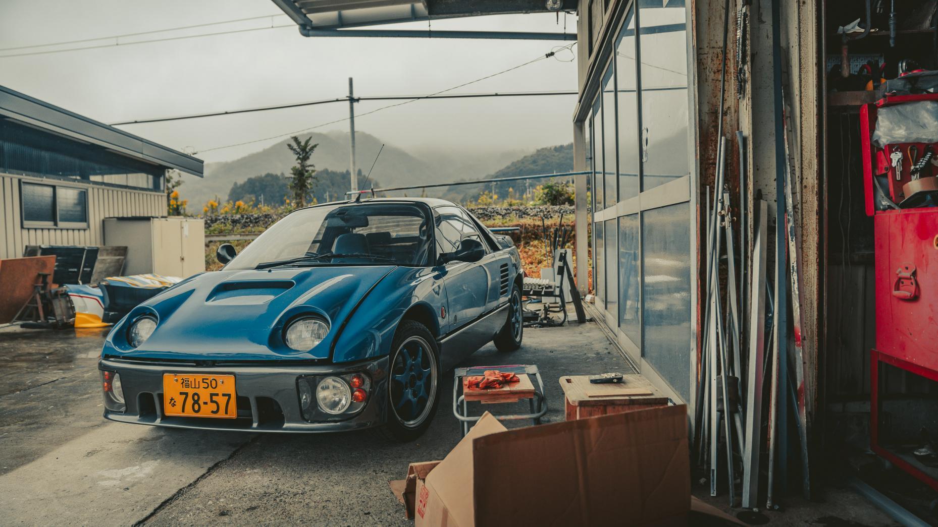 Japans autokerkhof Autozam AZ-1