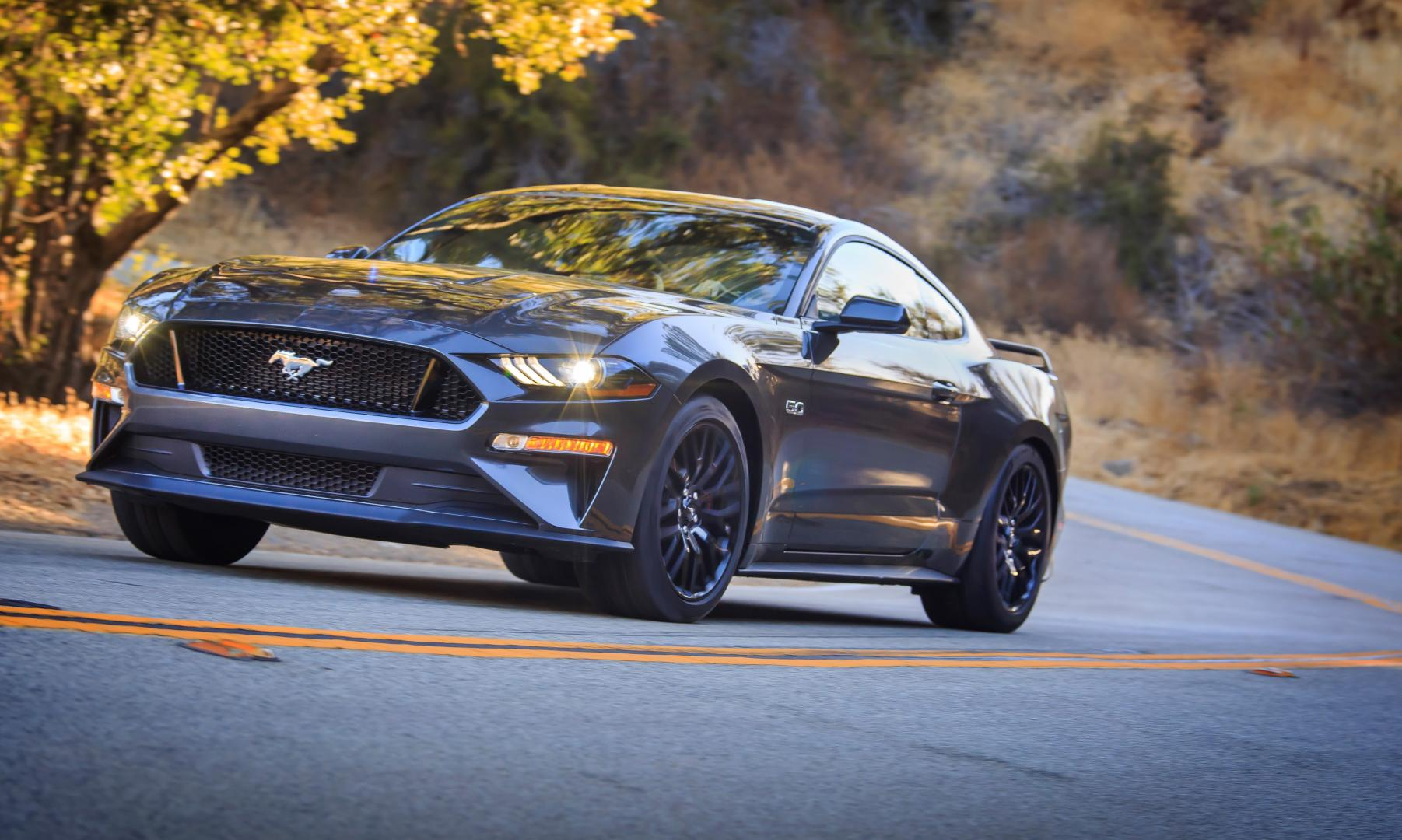 Ford Mustang Magnetic Grey 5.0 V8