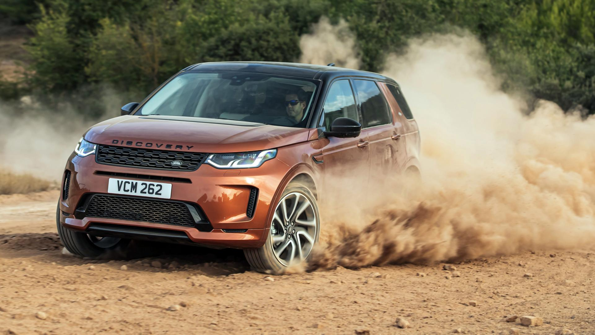 Land Rover Discovery Sport D240 R-Dynamic S rijder