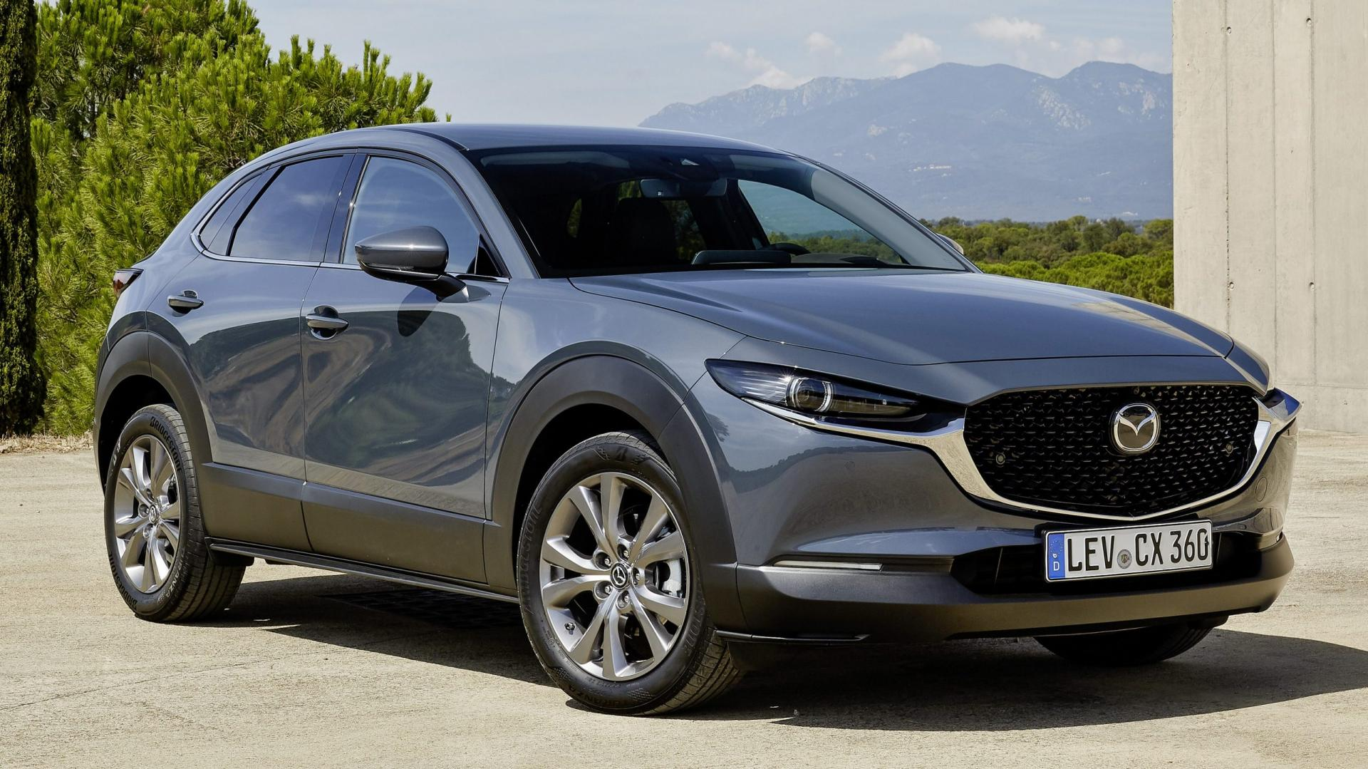 Mazda CX-30 2019 drie kwart voor rechts