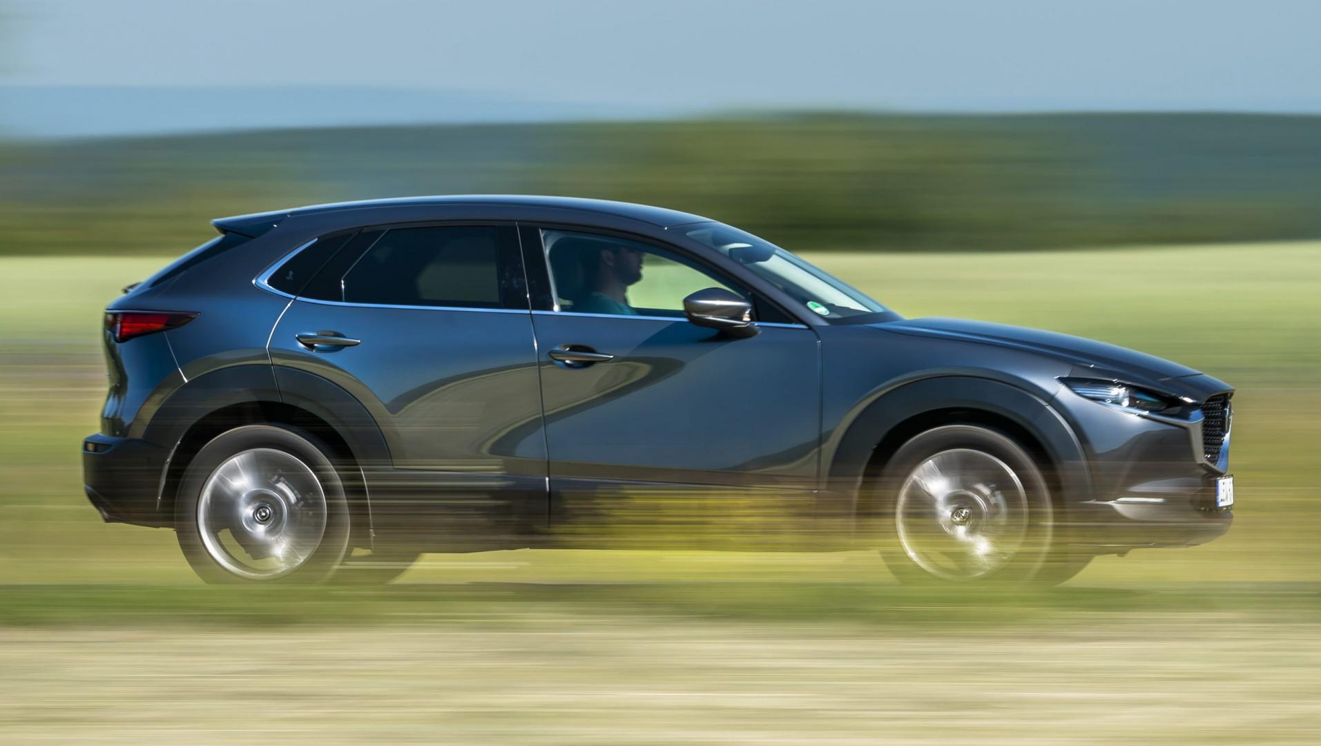 Mazda CX-30 2019 zij rechts