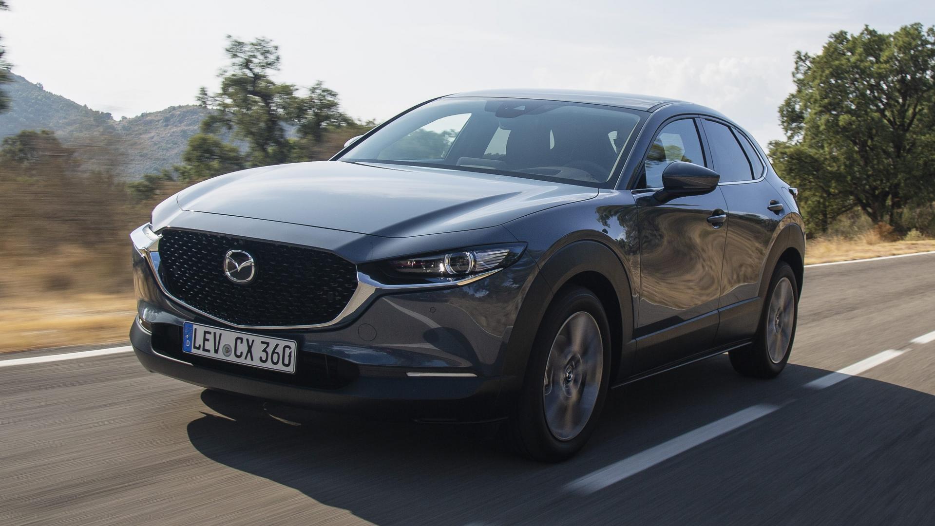 Mazda CX-30 2019 drie kwart voor